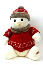 Adorable Snowden the Snowman Plush 2001 Target plushie Large collectable toy