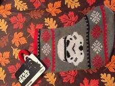 mini STAR WARS storm trooper Xmas Stocking