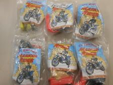 Masked Rider Collectibles ( 1997,KFC) LOT OF 6!! HARD TO FIND!! TAKE A LOOK!