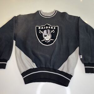 RARE! Vintage 1992 Eazy-E REAL MF G's Los Angeles Raiders Sweater Mens Medium M