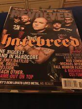 Revolver magazine 2009 Hatebreed Rob Zombie Emmure Slayer