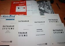 Lot of KATHABAR SYSTEMS Midland-Ross CATALOGS 1970'S Kathene Spray-Cel