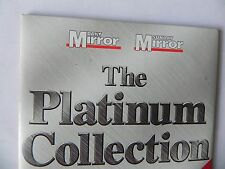 THE PLATINUM COLLECTION PROMO CD T REX SMALL FACES LOU BEGA REAL THING PLUS MORE