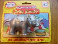 """New Jolly Jumbo """" The Squirting Elephant"""" With Trunk Up"""