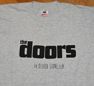 *1991 THE DOORS* vtg rock movie band tee t-shirt (XL) Val Kilmer Oliver Stone