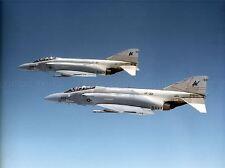 MILITARY AIR PLANE FIGHTER JET F4S PHANTOM USAF NAVY POSTER ART PRINT BB1067A