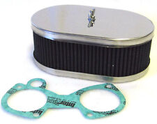 WEBER/DELLORTO DCOE/DHLA TWIN 38/40/42/45/48 CARBS - AIR FILTER 63MM DEEP