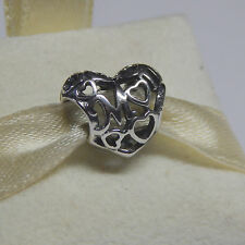 New Authentic Pandora Charm Motherly Love Bead 791519 Box Included