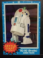 2015 SDCC EXCLUSIVE Gentle Giant Promo Card Star Wars R2-D2 (Droids) Card
