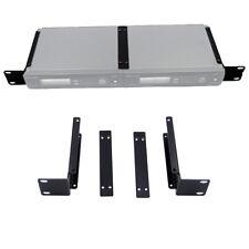 1U Rack Mount Bracket for SLX4 SM58 Single/Dual Wireless Mic Receiver Extension