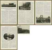 HWEW Erdölwerke Arbeiter Petroleum Tanks Verladestation Bahn Wietze Celle 1907!!