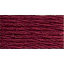DMC 117-814 6 Strand Embroidery Cotton Floss, Dark Garnet, 8.7-Yard