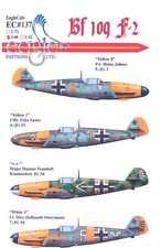 EagleCals Decals 1/48 MESSERSCHMITT Bf-109F-2 Fighter JG2 JG53 & JG54