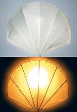 LAMPADA DA PARETE IN STOFFA STRUTTURA IN METALLO (CONCHIGLIA)