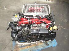 2005 Subaru Wrx STi EJ207 Engine VF37 Turbo 6 speed Transmission V8 Engine STI