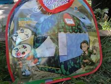 CAMOFLAGE CHILDREN'S POP UP PLAY TENT  INDOOR OUTDOOR  GIFT FREE SHIP  USA