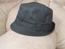 05a80d3e1ec27 NWT Size Medium   Large Wool    BANANA REPUBLIC    Charcoal Fedora Trilby  Hat