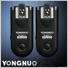 Yongnuo RF-603 II C1 Flash Trigger for Canon 60D 70D 350D 400D 450D 500D 550D