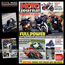 MOTO JOURNAL N°1800 SUZUKI GSXR 1000 YAMAHA YZF R1 HARLEY FLHX 1584 STREET GLIDE
