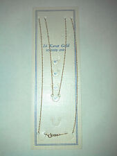 """14K ROPE CHAIN 18"""" inch - .6mm Wide - SOLID YELLOW GOLD - NEW (5)"""