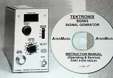 Tek Sg503 Generator Manual Opsampservice