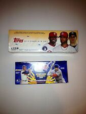 2000 and 2010 Topps Baseball Factory Sealed Set COMBO DEAL