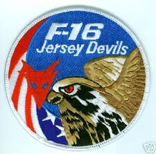 US AIR FORCE F-16 SWIRL 119 FIGHTER SQN JERSEY DEVILS