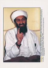 Osama bin Laden Afganistan Original Vintage 12 septembre 2001