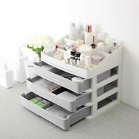 Makeup Organizers Plastic Cosmetic Drawer Storage Container Nail Casket Holder