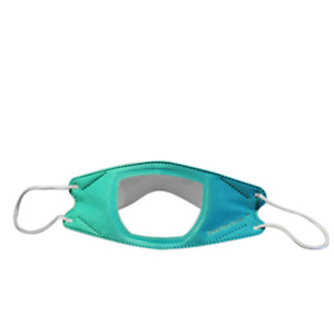 Transparent Face Mask Clear Window Deaf Friendly Visible Lip Reading Mask