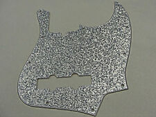 D'ANDREA PRO JAZZ BASS PICKGUARD 10 HOLE SILVER SPARKLE MADE IN THE USA