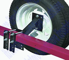 Heavy Duty Trailer Spare Tire Carrier Mount Mounting Plate Extra Wheel Holder