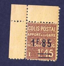 Colis postal N°:119-année:1937 - neuf **-Coin de feuille  Cote :+19 €