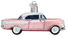 Old World Christmas Classic Car 57 Chevy Glass Tree Ornament 46023 FREE BOX New