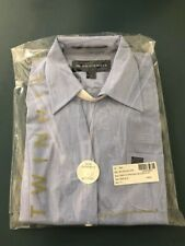 New US Airways Flight Attendant Airline Blouse/Stan Herman /Twin Hill Blue 4R