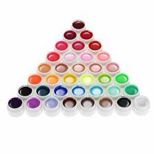 36 Gel UV Colorati Coprenti Unghie Nail Art Manicure Pure