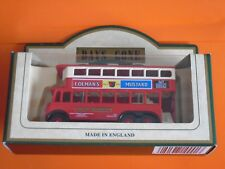 Lledo No 41013 - Diecast Model Of A 1928 Red Karrier E6 Trolley Bus - COLMAN'S