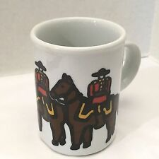 Danesco Stoneware Mug Marc Tetro Collectible Canadian Mounties Coffee Tea Cup 4""