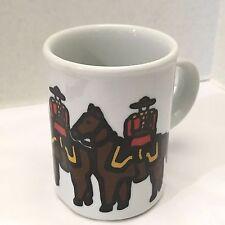 "Danesco Stoneware Mug Marc Tetro Collectible Canadian Mounties Coffee Tea Cup 4"""