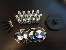 "BMW E30 BBS Felgen Zubehör Satz 14-15"" Logos valves bolts screws BBS tool wrench"