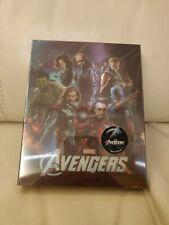 Avengers Bluray Steelbook, Lenticular,   New/Sealed,  Novamedia,  204/1000
