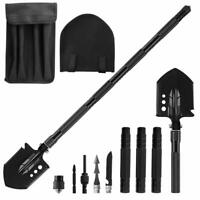 Folding Shovel Camping MilitaryTactical Survival Kit Garden Spade Emergency Gear
