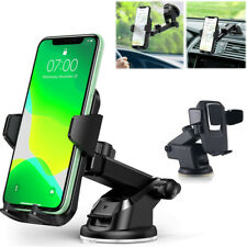 360° Car Windshield Stand Cell Phone Holder Mount for iPhone Samsung S20 Mobile