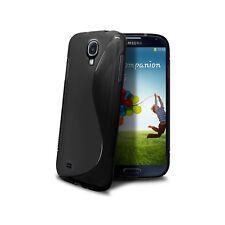 Coque Housse Etui TPU Galaxy S4 i9500 SLine Noire