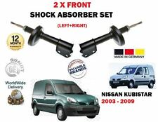 FOR NISSAN KUBISTAR X76 VAN + MPV 2003-2009 NEW 2 X FRONT SHOCK ABSORBER SET