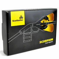 Scottoiler Scorpion Motorcycle Dual Injector V System X System E System UK NEW