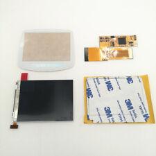 W/White Lens GBA 10 Levels Brightness IPS V2 Backlight LCD For Game Boy Advance