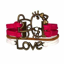 Bracelet Hello Kitty Rose Chat Love Bronze MultiBrins Infini