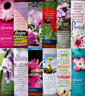 12 LADIES WOMENS CHRISTIAN FAITH SCRIPTURE BOOKMARKS -  FAST USA SHIPPING!