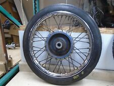 Triumph BSA Matchless Used Front Wheel 60s 70s RB29 #1